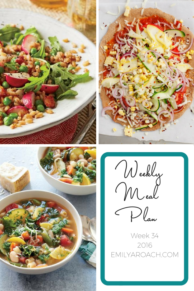 Healthy weekly meal plan to save you time in the kitchen. Easy to follow, simple real food recipes for your family. Click to see the recipes.
