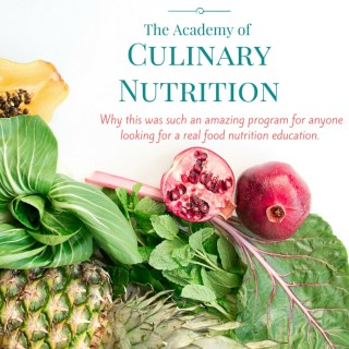 A look back at The Academy of Culinary Nutrition Program