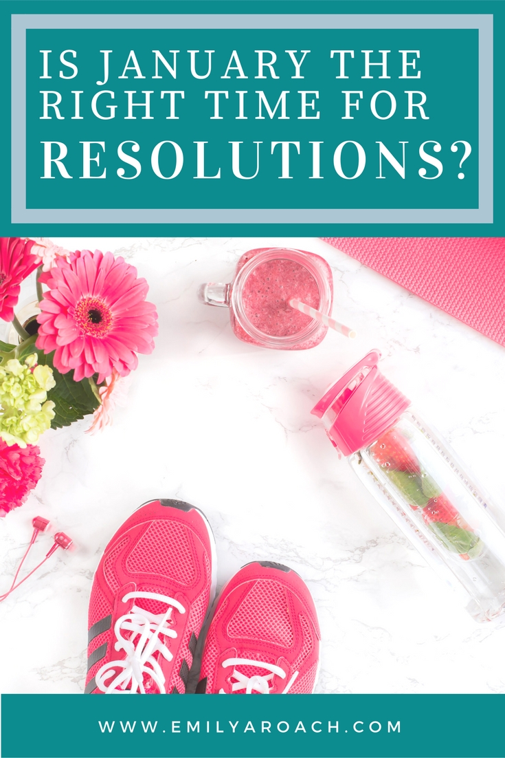 Is January the right time for resolutions? Let's recover from the holidays first, and start with small victories.