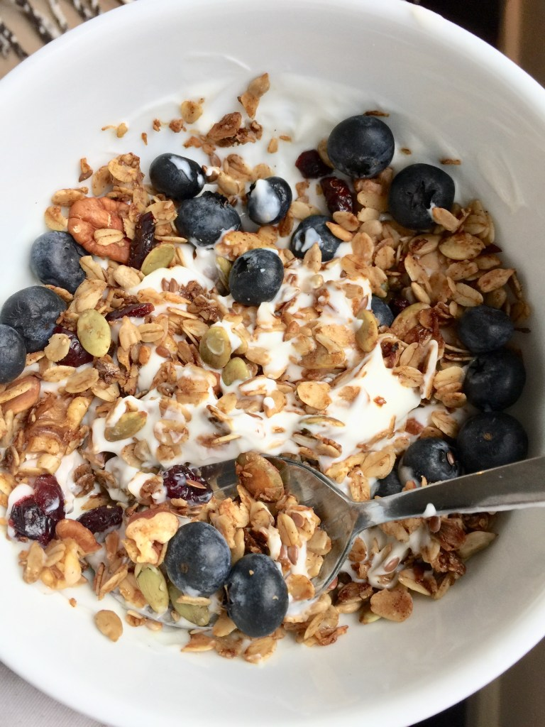Easy Healthy Homemade Granola Recipe Breakfast