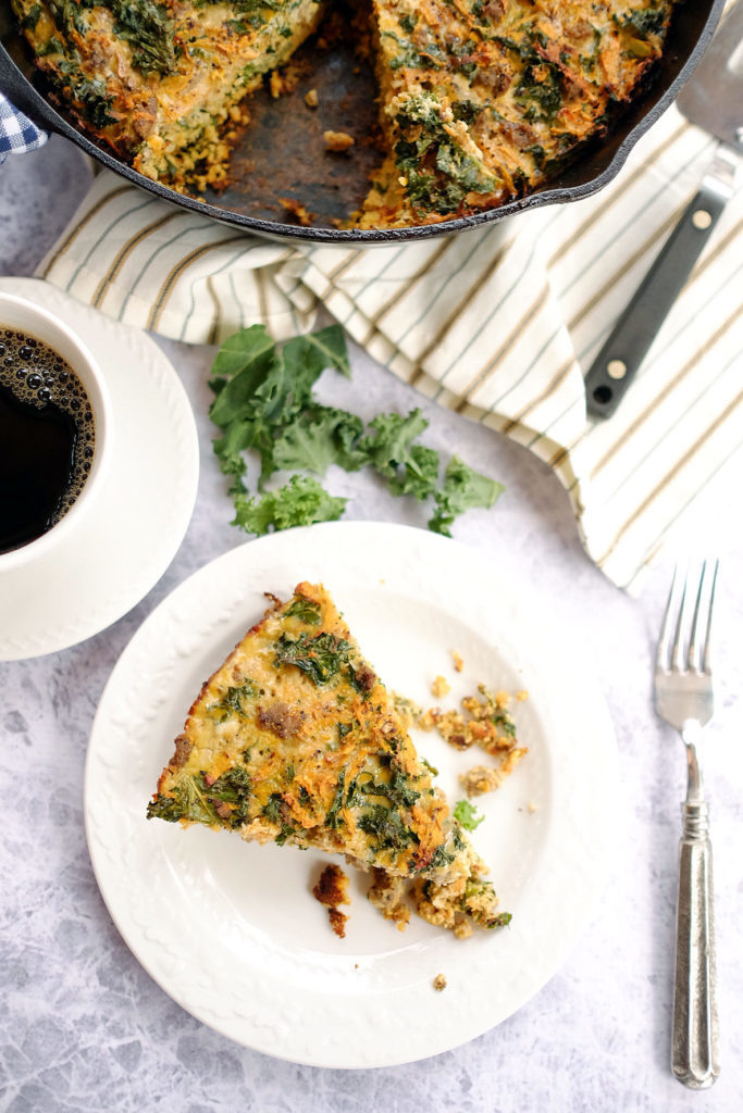 I'm adding this sweet potato quiche as a breakfast on this week's Spring Paleo Meal Plan.