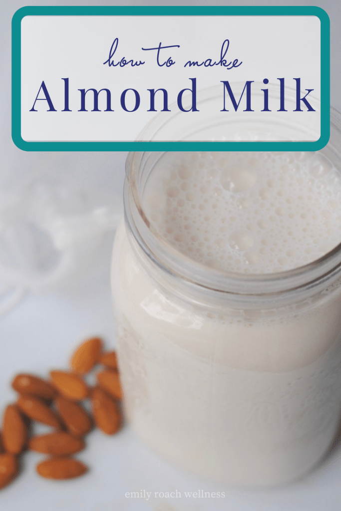 How to make almond milk recipe and diy tutorial