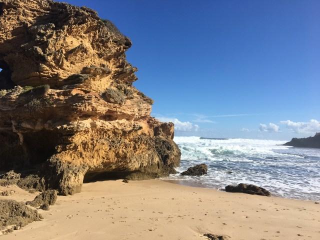Me encanta tomar fotos! Esta, en una playa cerca de Melbourne, Aus.
