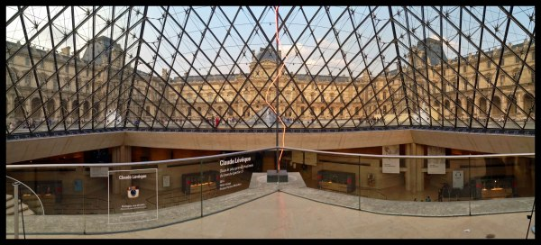 Louvre Inside Pyramid