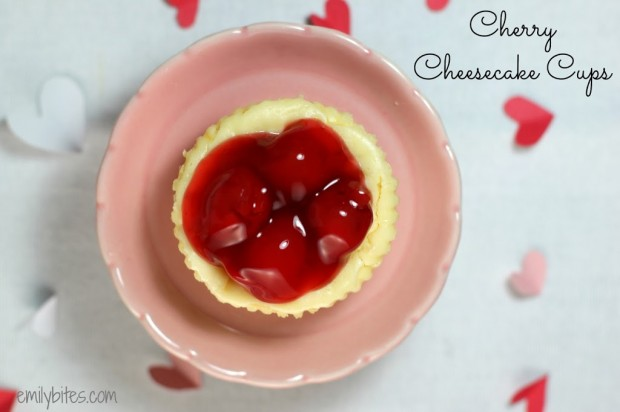Cherry Cream Cheese Cups Vanilla Wafers