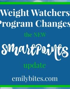 Weight watchers smartpoints also new program emily bites rh emilybites