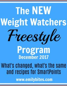 New weight watchers freestyle program also emily bites rh emilybites
