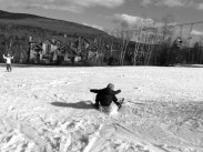 Skiers and snowboarders fall often before they get the hang of the sport.