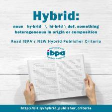 poster advertising hybrid publishing