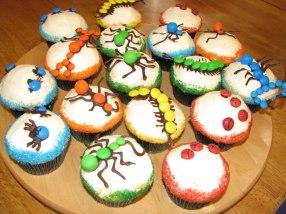 Birthday Bug Cupcakes 2012