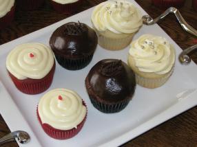 Red Velvet, Dark Chocolate, and Lemon