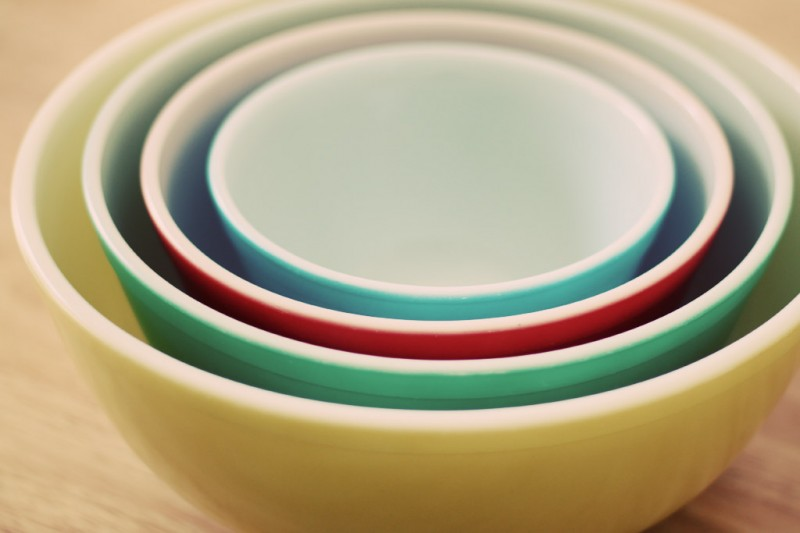 Nested Pyrex Bowls