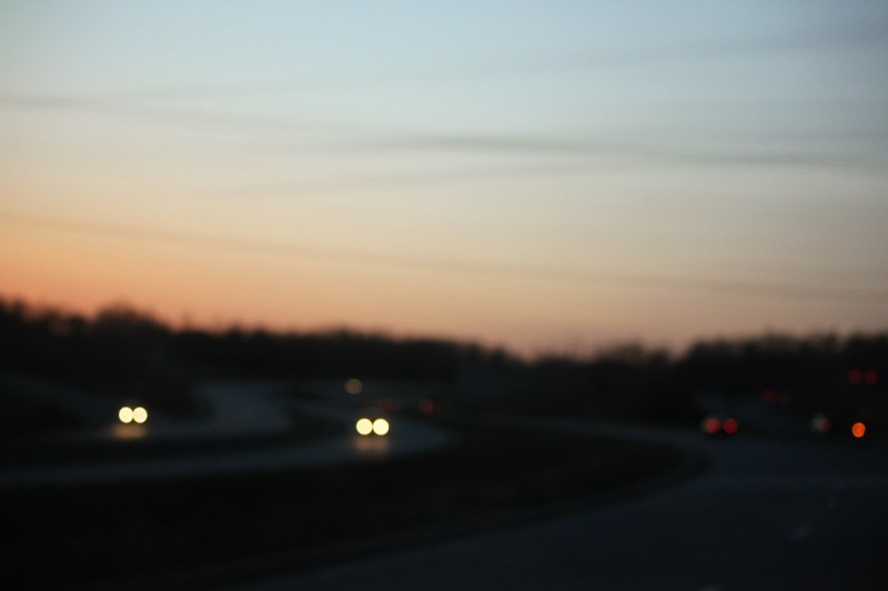 Highway at Dusk
