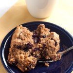 Whole Grain Blueberry Buckle
