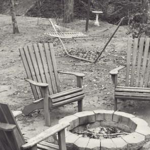 Pop's Cottage yard