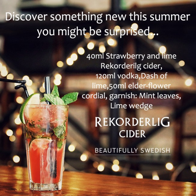 rekorderlig instagram post
