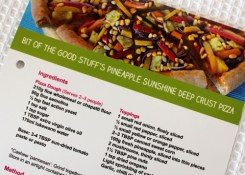 Pineapple Pizza Recipe Card - Asda - in store