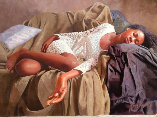Olumide Oresegun's paintings 3