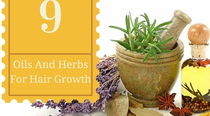 9 herbs and oils for hair growth