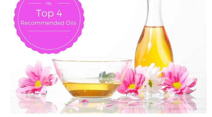 top four oils for hair