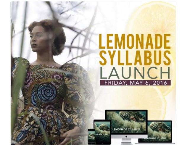 Lemonade syllabus