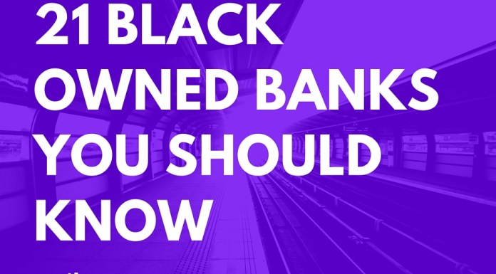 21 black owned banks