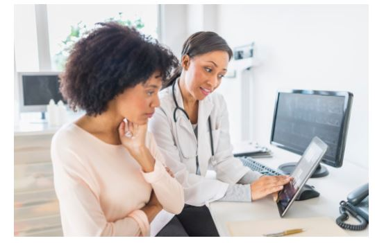 black-woman-at-the-doctor