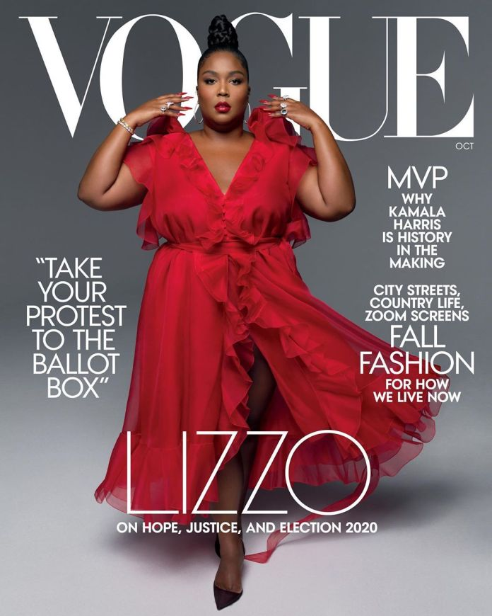 Lizzo's Vogue Cover