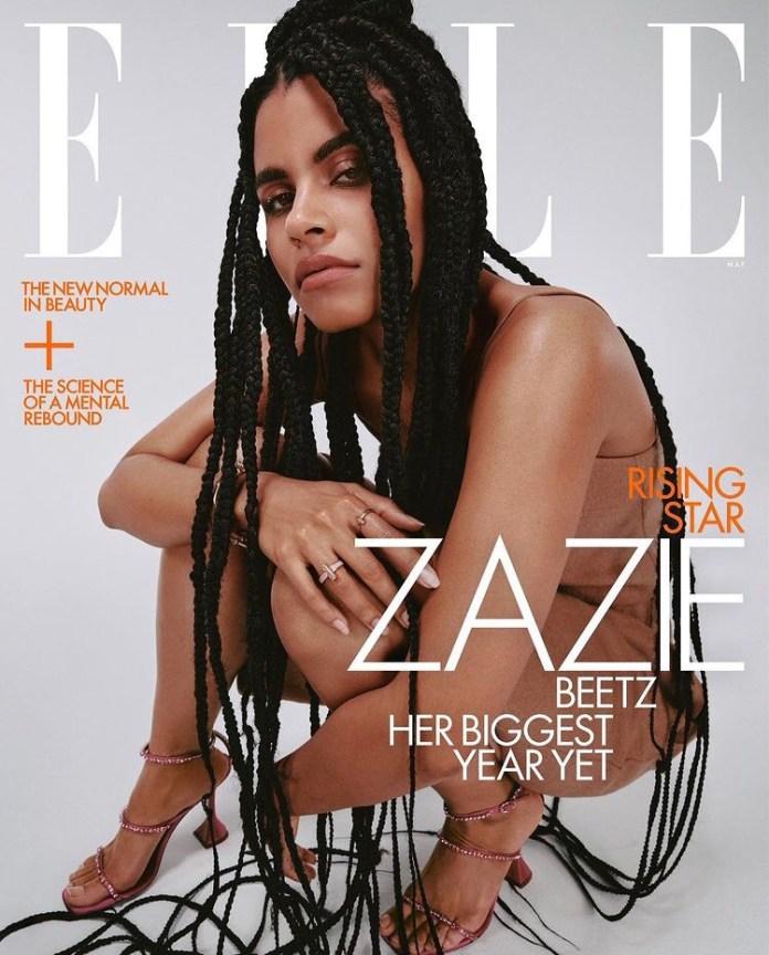Zazie Beetz for Elle