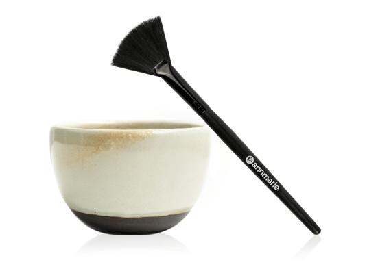 Clay Mask Bowl Set and Brush
