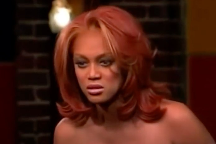 """Tyra Banks With The Red Hair And """"We Are Rooting For Her"""""""