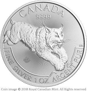 Lynx silver bullion coin