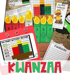 Kwanzaa Activities Print and Digital   Google and Seesaw - Emily Education [ 1056 x 1056 Pixel ]