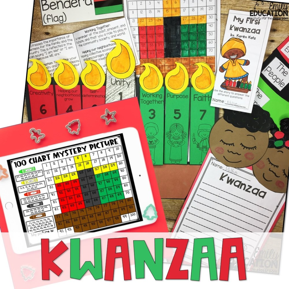 medium resolution of Kwanzaa Activities Print and Digital   Google and Seesaw - Emily Education