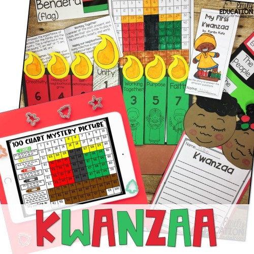 small resolution of Kwanzaa Activities Print and Digital   Google and Seesaw - Emily Education