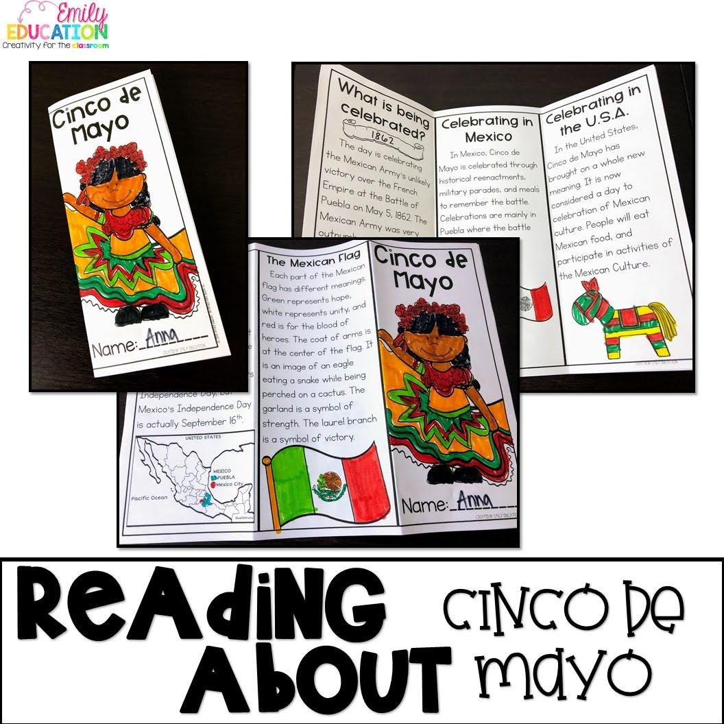 Personalized Cinco De Mayo Activities