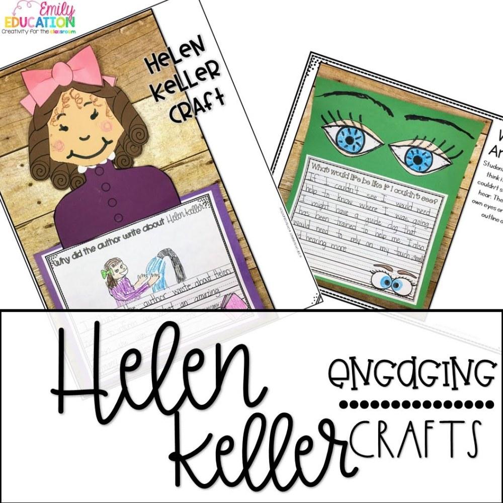 medium resolution of Helen Keller 2nd Grade Worksheets   Printable Worksheets and Activities for  Teachers