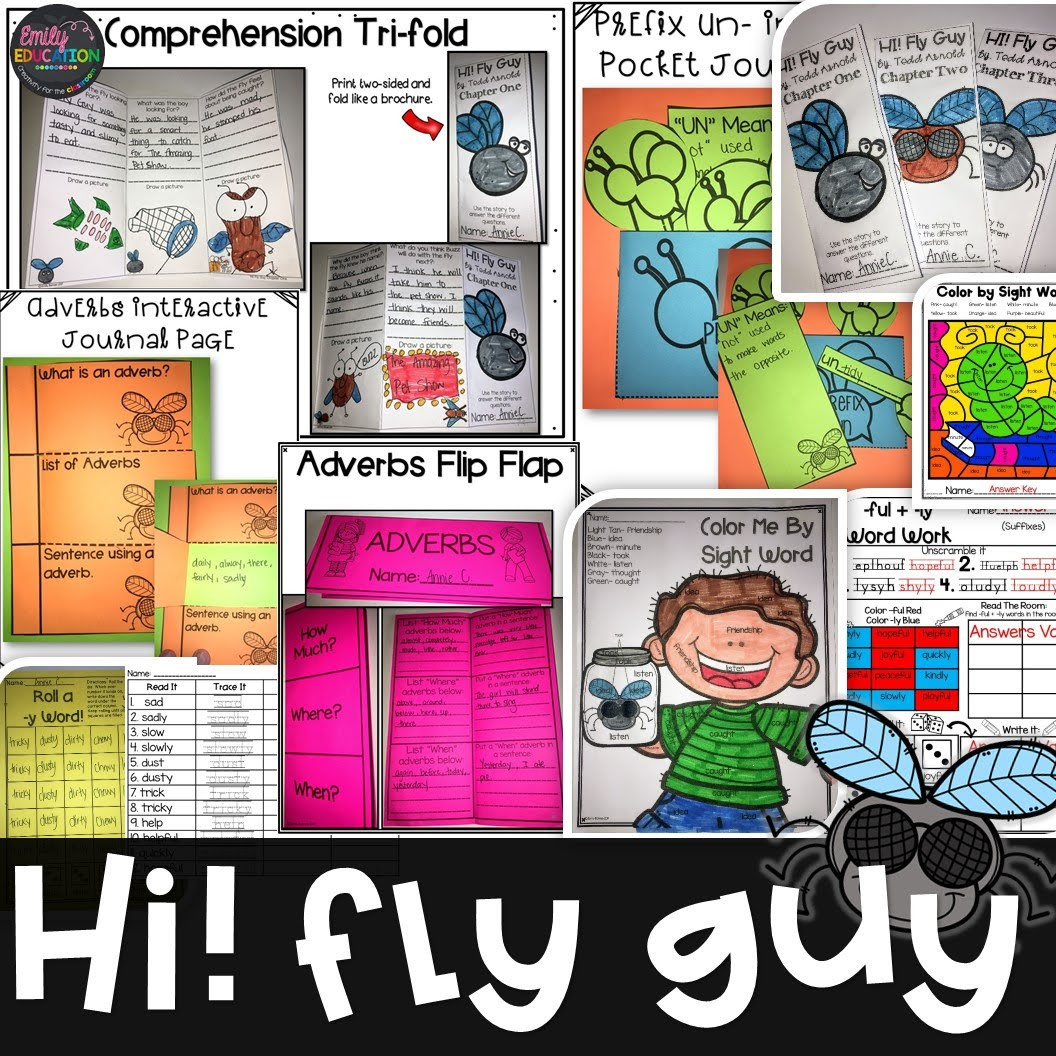 Hi Fly Guy By Tedd Arnold
