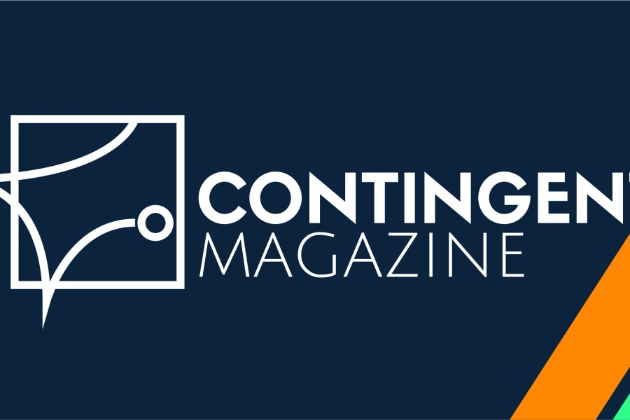 Contingent Magazine Header by Hillary Therriault