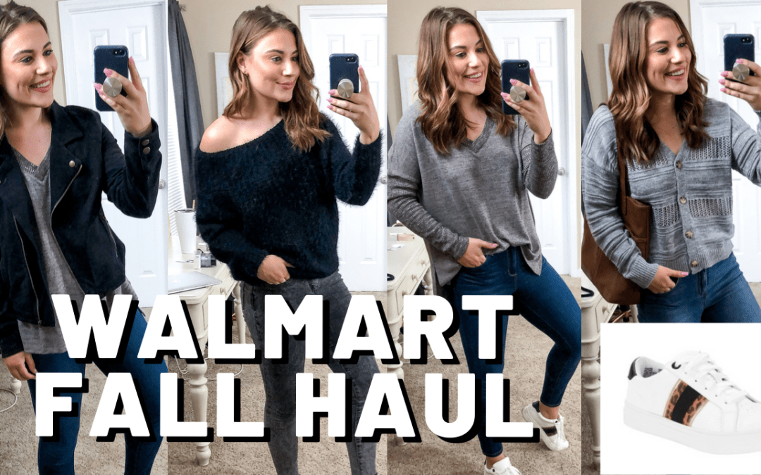 WALMART TRY ON CLOTHING HAUL FALL 2019