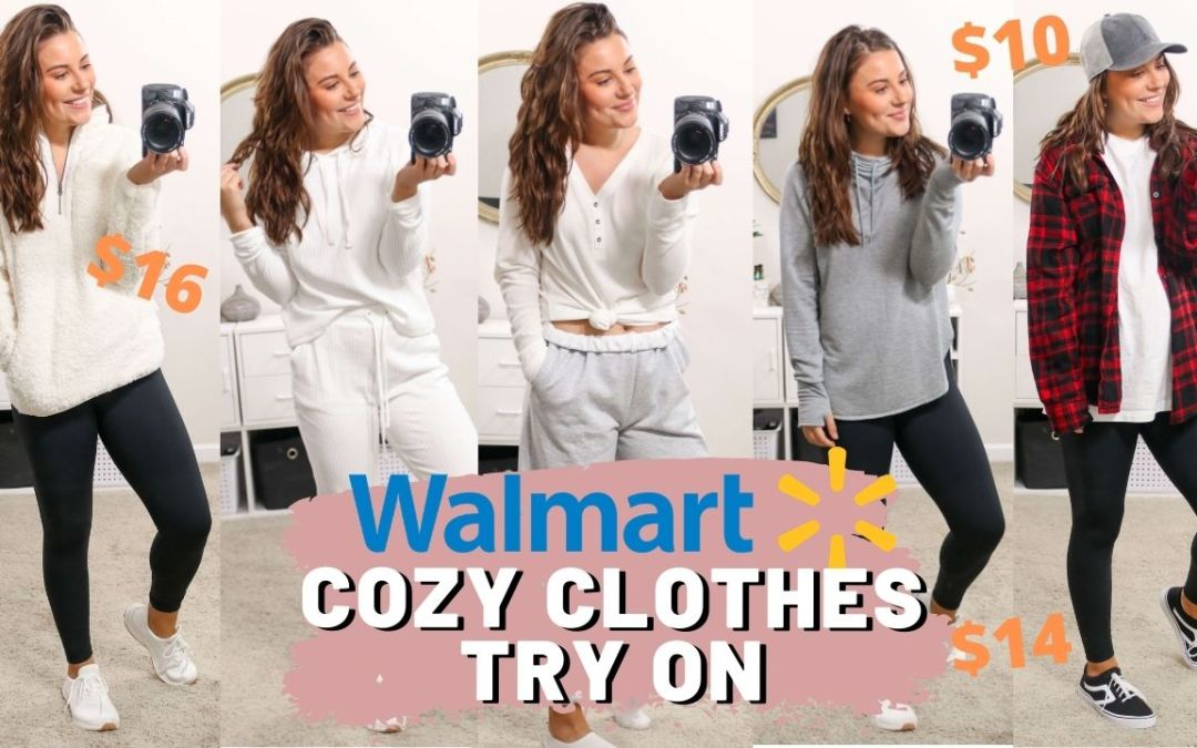 WALMART FALL COZY CLOTHES HAUL