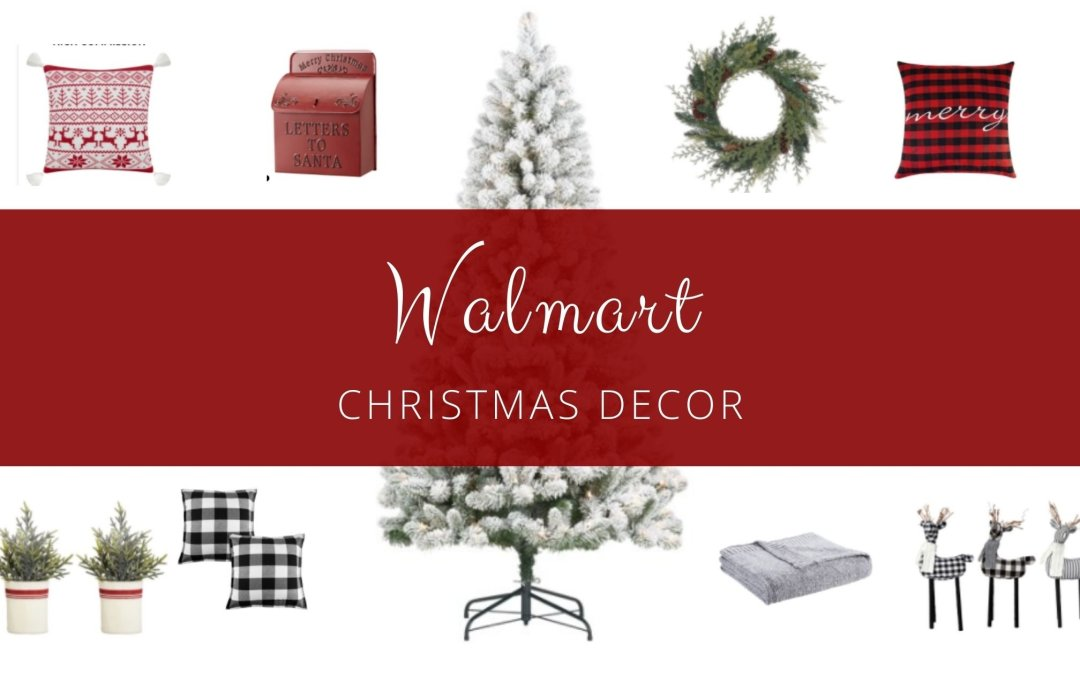 Walmart Christmas Decor