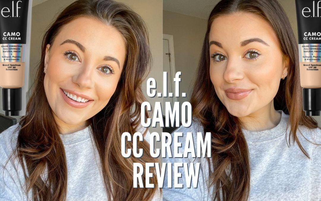 e.l.f. CAMO CC CREAM REVIEW & WEAR TEST
