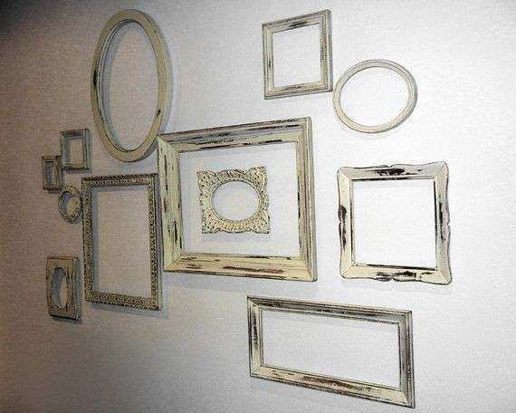 Empty Picture Frame Wall Art Unique Best Empty Frames Diy Wall ...