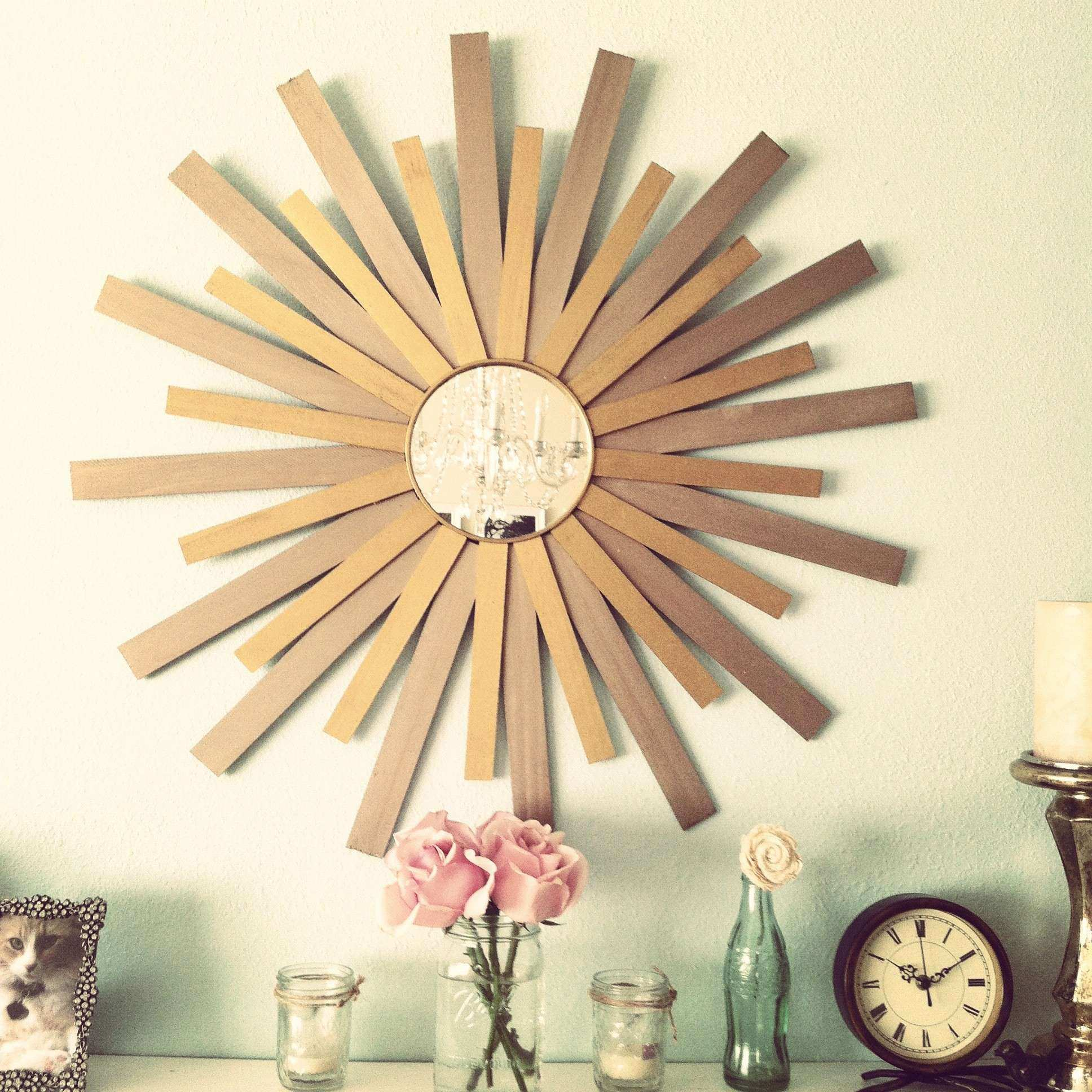 Sunburst Wall Decor New Wall Decor Minimalist Sunburst