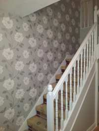 Pictures On Staircase Wall Lovely Appealing Wallpaper for ...