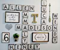 Decorative Letter Wall Art - Wall Decor Ideas