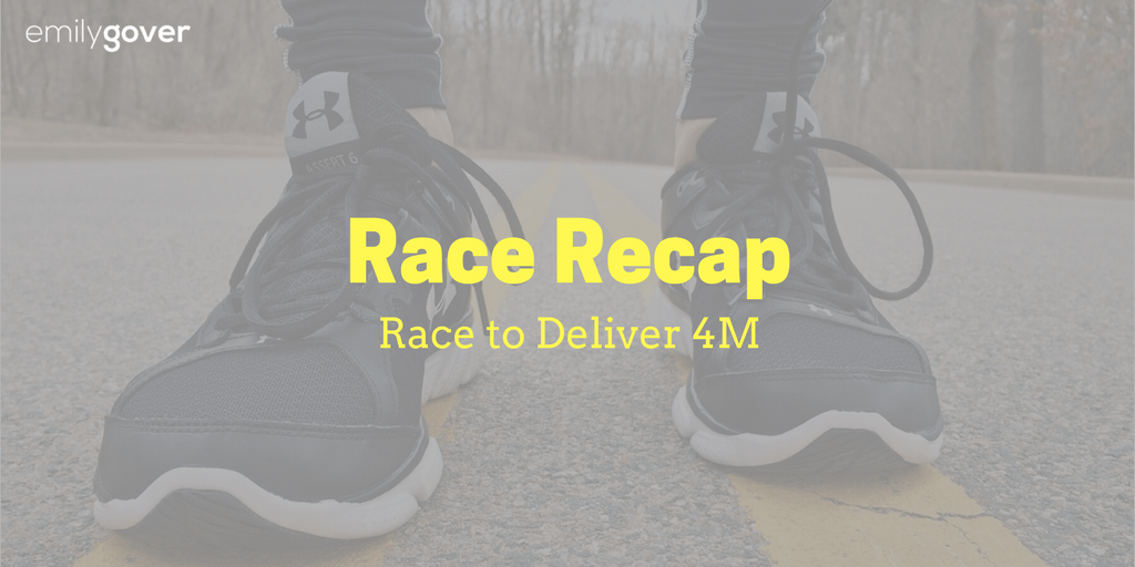 race to deliver nyrr recap