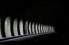 Tunnel somewhere between Serbia and Croatia.