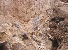 Rock Quarry in Acholi Quarters.
